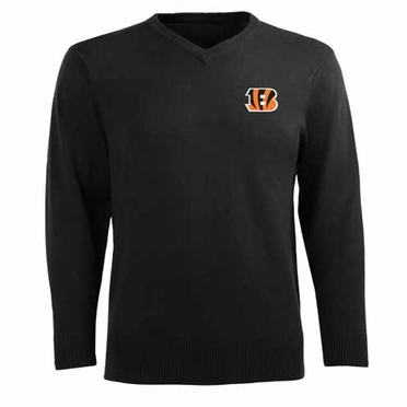 Cincinnati Bengals Mens Ambassador Sweater (Team Color: Black)