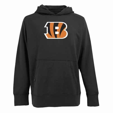 Cincinnati Bengals Big Logo Mens Signature Hooded Sweatshirt (Color: Black)