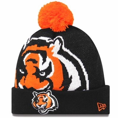 Cincinnati Bengals Biggie Cuffed Knit Hat