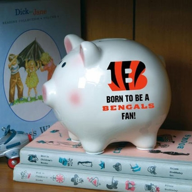 Cincinnati Bengals (Born to Be) Piggy Bank