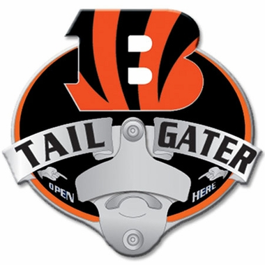 Cincinnati Bengals Bottle Opener Hitch Cover