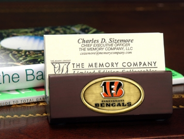 Cincinnati Bengals Business Card Holder