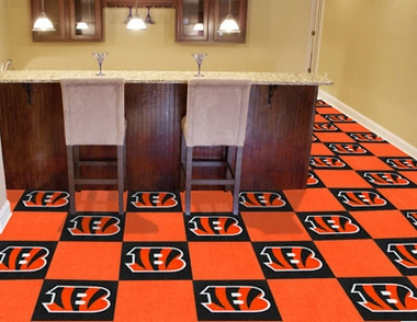 Cincinnati Bengals Carpet Tiles