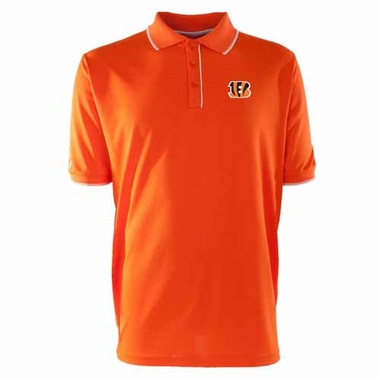 Cincinnati Bengals Mens Elite Polo Shirt (Team Color: Orange)