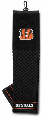Cincinnati Bengals Embroidered Golf Towel