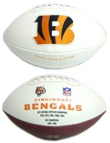 Cincinnati Bengals Embroidered Signature Series Football