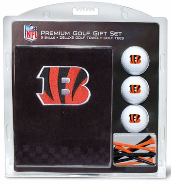 Cincinnati Bengals Embroidered Towel Gift Set