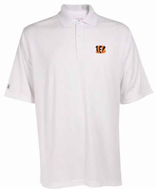 Cincinnati Bengals Mens Exceed Polo (Color: White)