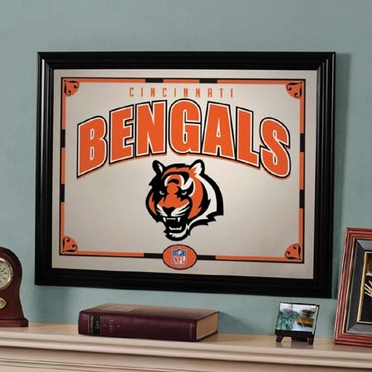 Cincinnati Bengals Framed Mirror