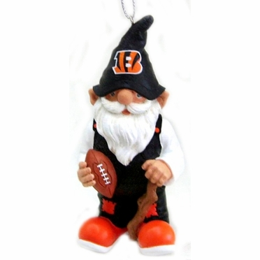 Cincinnati Bengals Gnome Christmas Ornament