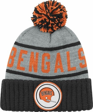Cincinnati Bengals High 5 Vintage Cuffed Pom Hat