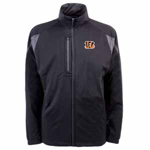 Cincinnati Bengals Mens Highland Water Resistant Jacket (Team Color: Black) - X-Large