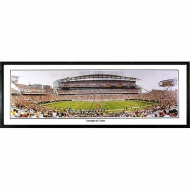 Cincinnati Bengals Inaugural Game Framed Panoramic Print