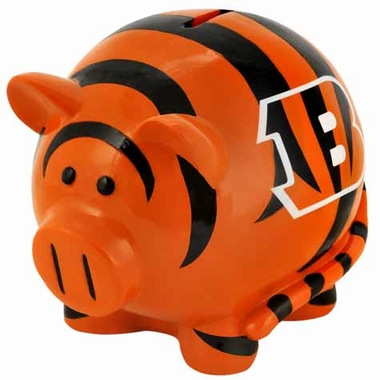 Cincinnati Bengals Large Thematic Piggy Bank