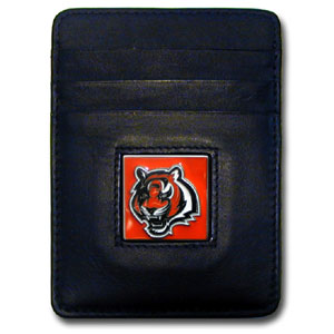 Cincinnati Bengals Leather Money Clip (F)