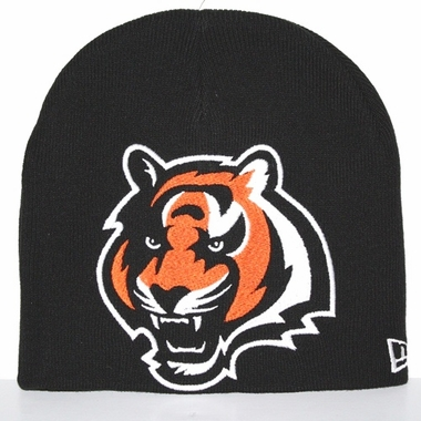 Cincinnati Bengals New Era Big One Too Cuffless Knit Hat