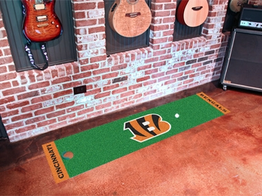 Cincinnati Bengals Putting Green Mat