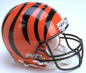 Cincinnati Bengals Riddell Full Size Authentic Helmet