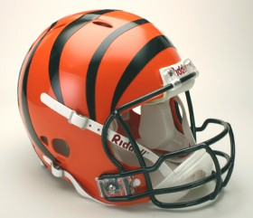 Cincinnati Bengals Riddell Full Size Authentic Revolution Helmet