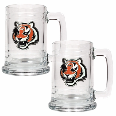 Cincinnati Bengals Set of 2 15 oz. Tankards