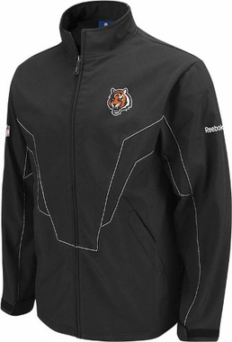Cincinnati Bengals Sideline United Softshell Full Zip Premium Jacket