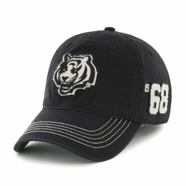 Cincinnati Bengals Throwback Badger Franchise Flex Fit Hat
