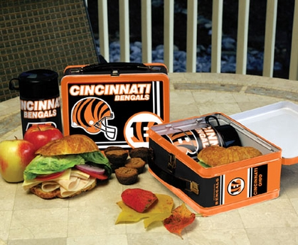 Cincinnati Bengals Tin Lunch Box