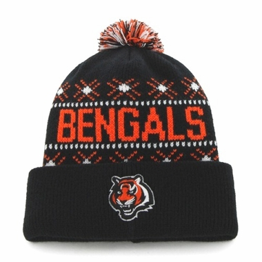 Cincinnati Bengals Tip Off Cuffed Knit Hat