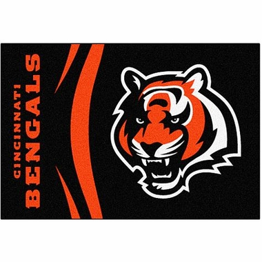 Cincinnati Bengals Uniform Inspired 20 x 30 Rug