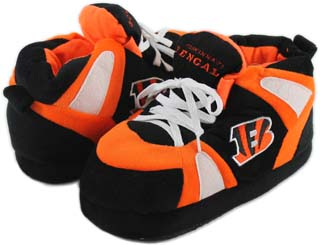 Cincinnati Bengals UNISEX High-Top Slippers - Large