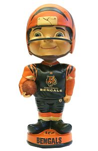 Cincinnati Bengals Vintage Retro Bobble Head