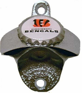 Cincinnati Bengals Wall Mount Bottle Opener