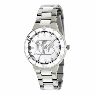 Cincinnati Bengals Women's Pearl Watch