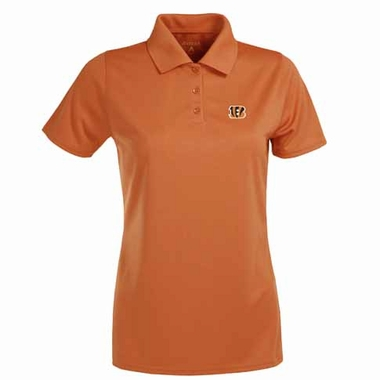 Cincinnati Bengals Womens Exceed Polo (Team Color: Orange)