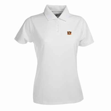 Cincinnati Bengals Womens Exceed Polo (Color: White)