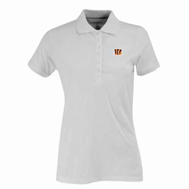 Cincinnati Bengals Womens Spark Polo (Color: White)