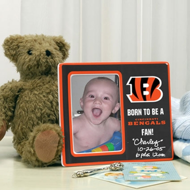Cincinnati Bengals Youth Picture Frame