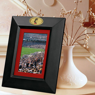 Cincinnati BLACK Portrait Picture Frame