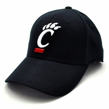 Cincinnati Black Premium FlexFit Baseball Hat