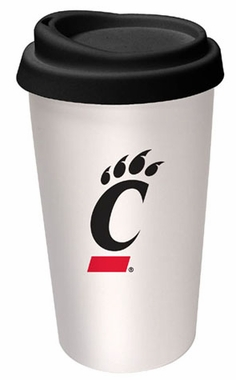 Cincinnati Ceramic Travel Cup