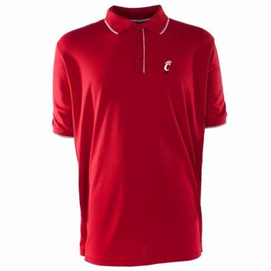 Cincinnati Mens Elite Polo Shirt (Team Color: Red)