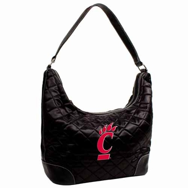 Cincinnati Quilted Hobo Purse