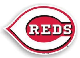 "Cincinnati Red 12"" Car Magnet"