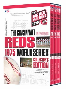 Cincinnati Reds 1975 World Series Collector's Edition DVD Set