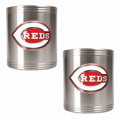 Cincinnati Reds 2 Can Holder Set