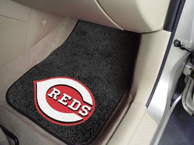 Cincinnati Reds 2 Piece Car Mats
