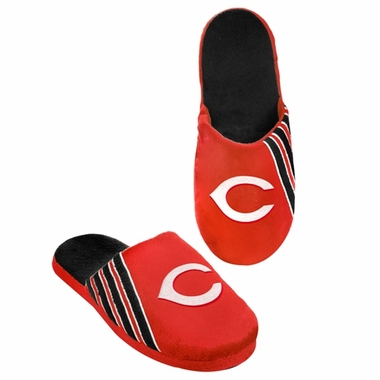 Cincinnati Reds 2012 Team Stripe Logo Slippers