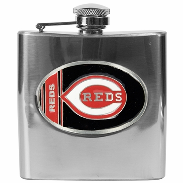 Cincinnati Reds 6 oz. Hip Flask