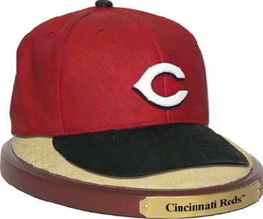 Cincinnati Reds Ball Cap Figurine