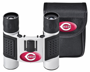 Cincinnati Reds Binoculars and Case